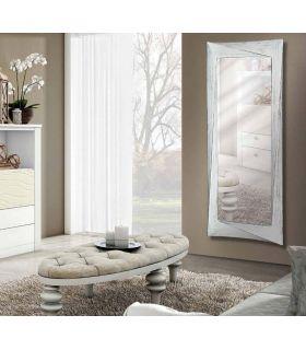 Comprar online Espejo Vestidor de Pared : Modelo CALIXTA blanco envejecido