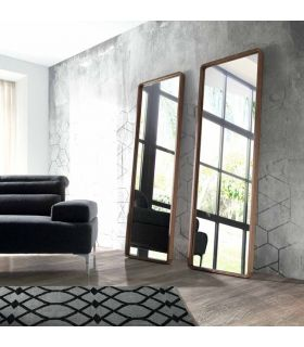 Comprar online Espejo Vestidor en Madera de Nogal : Modelo DEDALO