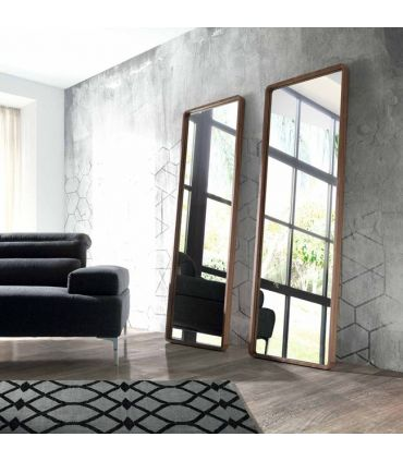Espejo Vestidor en Madera de Nogal : Modelo DEDALO