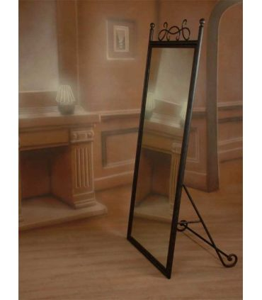 Espejo vestidor de pie forja Mod. ARIES