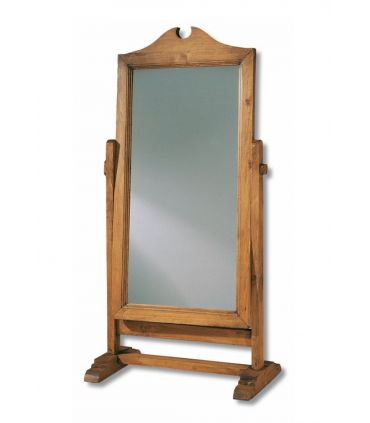 Espejos Vestidores de Madera Natural : Colección BAZAR