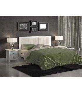 Cabecero de madera para cama de Matrimonio : Colección FLORA