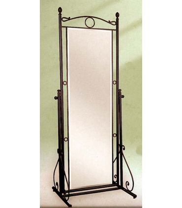 Espejo vestidor de pie forja Mod. SOFIA