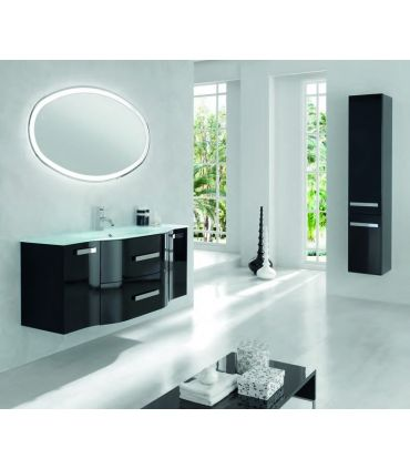 Espejos de Baño Con Luz : Modelo OVAL ACID Led