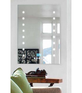Espejos de Baño MULTIMEDIA con luz LED Puntos