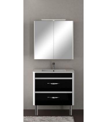 Muebles Romi con Espejo : Coleccion OKRA 2 puertas