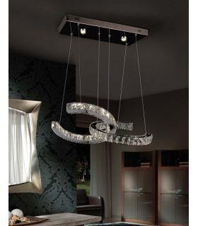 Lámpara de Cristal Facetado Modelo CALA Schuller