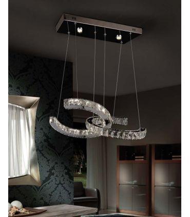 Lámpara de Cristal Facetado : Modelo CALA