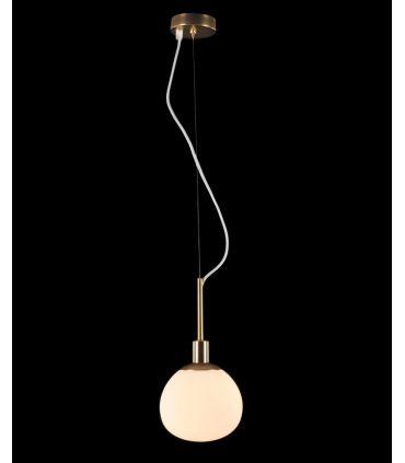 Lámpara Colgante de Metal con Tulipa de Vidrio : Colección ERICH