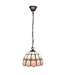 Comprar online Lámpara de colgar de techo Estilo Tiffany : Colección PINK