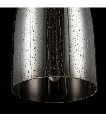 Colgante Diseño Industrial Cristal Ahumado : Modelo BERGEN II