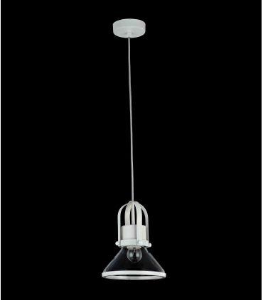 Colgante Blanco de Estilo Industrial en Metal : Modelo ARGO