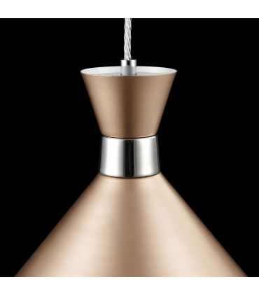 Colgante de Metal Acabado Champagne : Modelo KENDAL