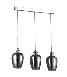 Comprar online Lámparas de 3 luces con Cristales Ahumados : Colección BLUES