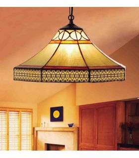 Comprar online Lámpara colgante Regulables Tiffany : Coleccion NAOMI