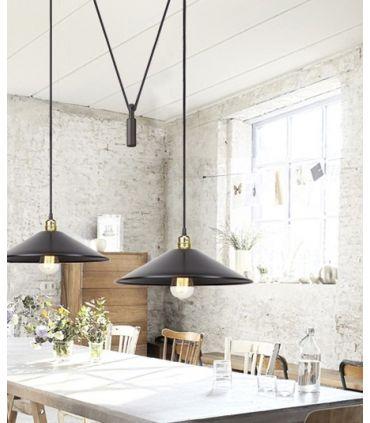 Lámpara de estilo Industrial : Modelo HARLEM