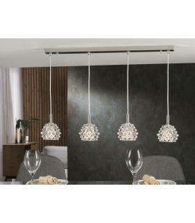 Lámpara de Techo de Diseño Moderno 4 luces : Colección HESTIA II