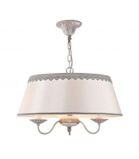 Comprar online Colgante de 3 luces con Pantalla Diseño Clásico : Colección BOUQUET