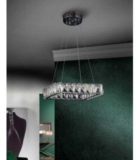 Comprar online Lámpara LED de Cristal Facetado : Colección DIVA cuadrada