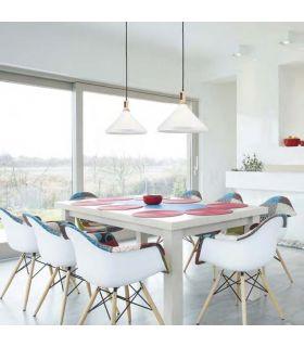 Comprar online Lámpara de techo de estilo Nórdico : Colección TRENTO Cono GR