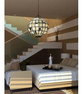 Comprar online Lamparas Esféricas de Estilo Tiffany : AURA Miel
