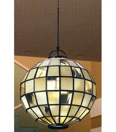 Lamparas Esféricas de Estilo Tiffany : AURA Miel