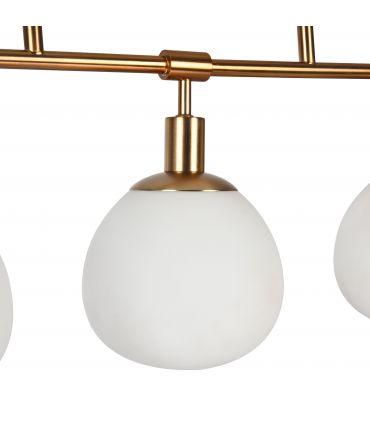 Colgante de Techo de 5 luces Acabado Oro : Colección ERICH