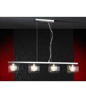 Comprar online Lámparas Modernas : Colección ECLIPSE Colgante de 4 luces.