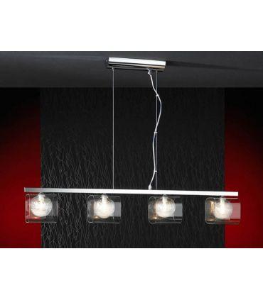 Lámparas Modernas : Colección ECLIPSE Colgante de 4 luces.
