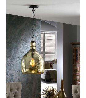 Comprar online Lámpara de Cristal Soplado : Modelo LAIA ámbar
