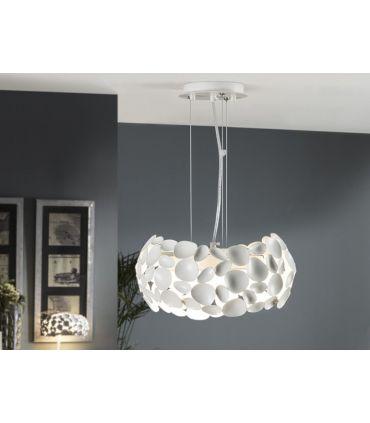 Lampara Blanca de Schuller Iluminación : Colección NARISA