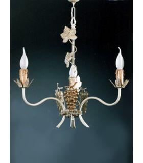 Comprar online Lámpara de forja Colección RIOJA L-76-3