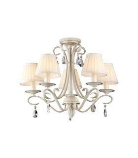 Comprar online Lámparas de Comedor : Colección BRIONIA 5 luces