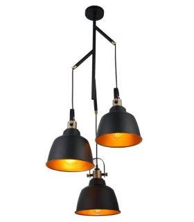 Comprar online Lámpara de techo en Metal : Colección FLYNN 3 luces