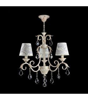 Comprar online Lámpara de techo de Estilo Clásico : Colección VELVET 3 Luces