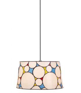Comprar online Lámpara colgante de Cristal Tiffany : Colección HIPPY