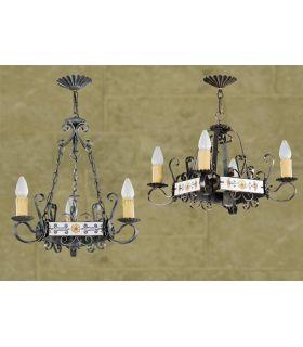 Comprar online Lámparas rusticas Mod. L-109-3 y 4