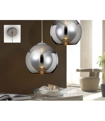 Lámparas Colgantes de Metal : Colección ESFERA cromo