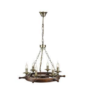 Comprar online Lámparas de Techo de estilo Naútico : Colección FRIGATE Bronce