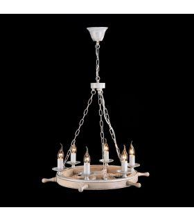 Comprar online Lámpara de techo de estilo Naútico : Colección FRIGATE Blanco