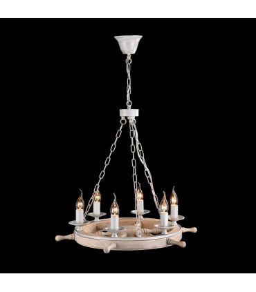 Lámparas de Techo de estilo Naútico : Colección FRIGATE Blanco