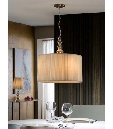 Lámpara de Techo : Colección MERCURY CHAMPAGNE