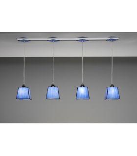 Comprar online Lámparas Regleta Colgante : Coleccion VETRO AZUL