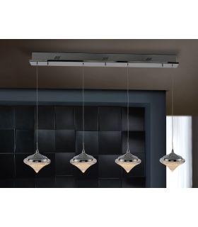 Comprar online Colgante de Diseño Moderno : Colección ZOE 4 Luces