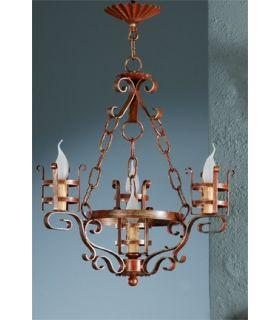 Comprar online Lámpara rústica Mod. L-132-4