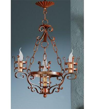 Lámpara rústica Mod. L-132-4