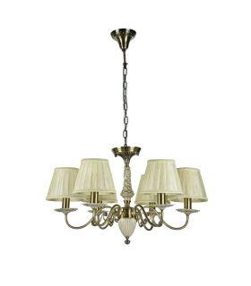 Comprar online Lámparas Araña Estilo Clásico : Colección BATTISTA 6 luces