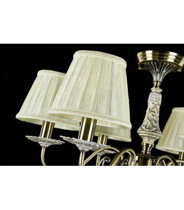 Lámparas Araña Estilo Clásico : Colección BATTISTA 6 luces