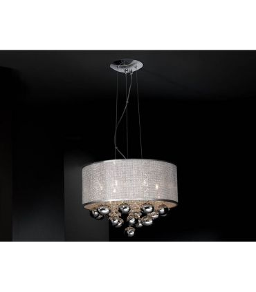 Lamparas Colgantes : Colección ANDROMEDA 6 luces