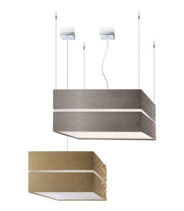 Lámparas de Techo : Modelo SQUARE DUO